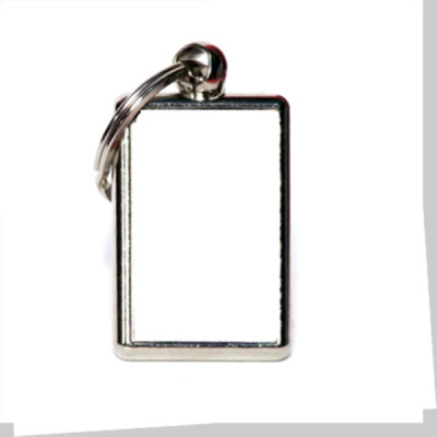Silver Key Ring Double Sided